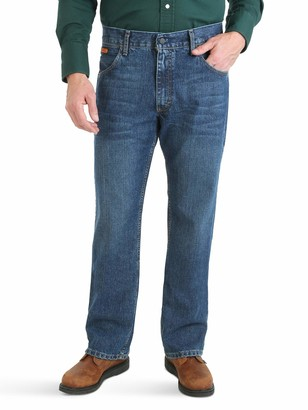 Wrangler Riggs Workwear Men's FR Flame Resistant Advanced Comfort Slim Boot Cut Jean