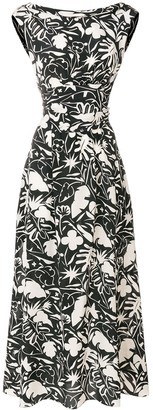 Aspesi printed sleeveless dress