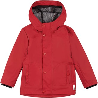 Hunter Original Rubberized Waterproof Hooded Raincoat