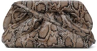 Themoire Snakeskin Print Mini Bag