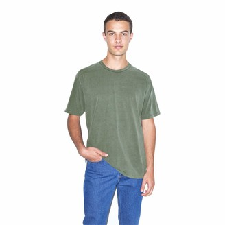 American Apparel Men's Heavy Jersey Box Short Sleeve T-Shirt