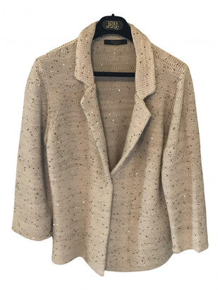 Max Mara Weekend Beige Wool Jackets