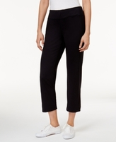 Alfred Dunner Petite Cropped Straight-Leg Pants