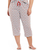 Sleep Sense Plus Floral Capri Sleep Pants