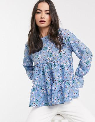 AX Paris tiered blouse