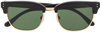 Polo Ralph Lauren Half-Frame Tinted Sunglasses