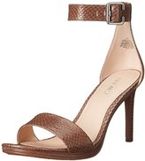 Nine West Women's Meantobe Leather Heeled Sandal