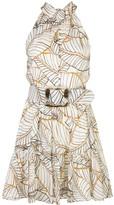 Nicholas Selima foliage dress