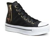 Converse High Top Platform Sneaker (Women)
