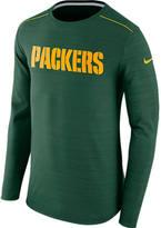 Nike Men's Green Bay Packers NFL Long-Sleeve Poly Player T-Shirt
