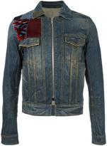 Maison Margiela patch detail denim jacket