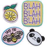 Asstd National Brand Sticker Patches