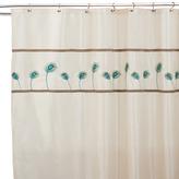 "Bed Bath & Beyond Aurora 72"" x 72"" Ivory and Blue Shower Curtain"