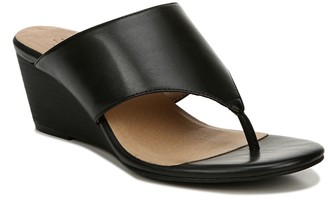 Naturalizer Nifty Wedge Thong Sandal - Wide Width Available