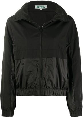 Kenzo Two-Tone Windbreaker Jacket