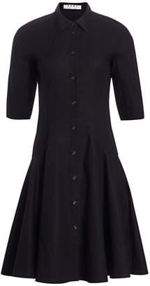 Proenza Schouler White Label Flared Shirt Dress