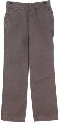 Timberland Green Cotton Trousers for Women