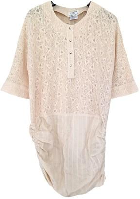 Roseanna Ecru Cotton Dresses