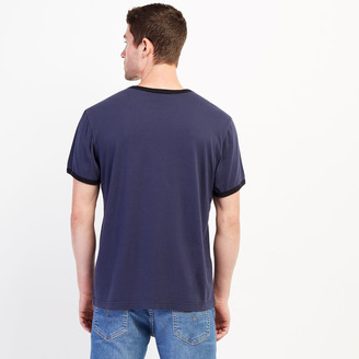 Roots Mens Rugged Ringer Pocket T-shirt