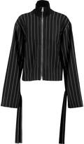 J.W.Anderson Striped twill jacket