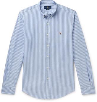 Polo Ralph Lauren Button-Down Collar Striped Cotton Oxford Shirt
