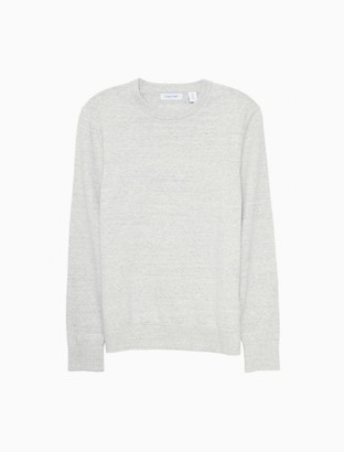 Calvin Klein Marled Yarn Crewneck Sweater