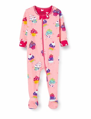 Hatley Baby Girls' Organic Cotton Footed Sleepsuits