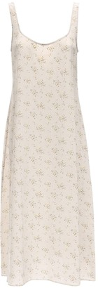 Ciao Lucia Florentina Printed Crepe De Chine Dress