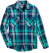Tommy Hilfiger Larson Flannel Shirt, Big Boys (8-20)
