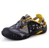 Aleader Mens Closed Toe Water Sandals
