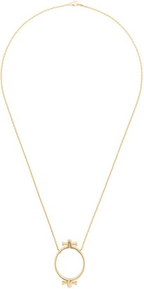 Annelise Michelson Alpha pendant necklace
