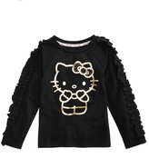 Hello Kitty Foil-Print Long-Sleeve Sweater, Toddler Girls (2T-5T)