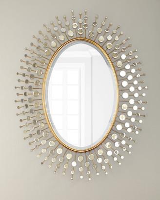 Gold Sun Ray Mirror