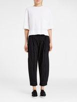 DKNY Pinstripe Ankle Cuff Pant