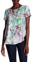 Spense Printed Short Sleeve Shirt