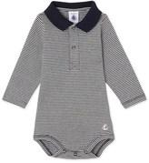 Petit Bateau Baby boys milleraies striped bodysuit