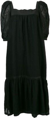 A.N.G.E.L.O. Vintage Cult Midi Flared Dress