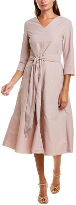 Max Mara S Tambuto A-Line Dress