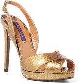 Ralph Lauren Jelene Snakeskin Sandal