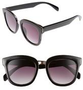 BP Women's 55Mm Sunglasses - Black Gold