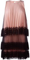 Christopher Kane pleated tulle dress