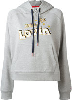 Tommy Hilfiger Keep Lovin hoodie - women - Cotton - S