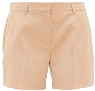 Sies Marjan Sienna Back-strap Wool-twill Shorts - Beige