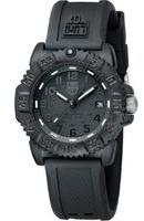 Luminox Unisex Navy Seal Colormark 3050 Series 38mm Blackout Watch A7051BO