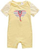 BeautyIn Baby Toddler Boys UPF 50+ One Piece Surf Suit Sunsuit 1 Piece Swimsuit