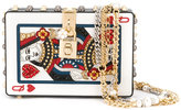 Dolce & Gabbana Dolce Box Queen Of Hearts clutch