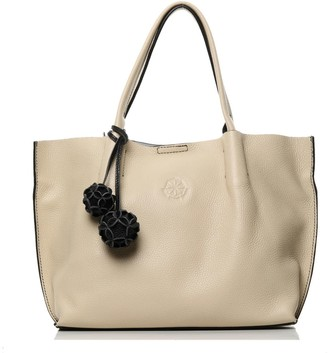 Richmond The Midi Tote Beige