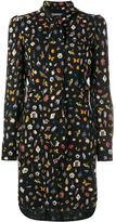 Alexander McQueen 'Obsession' print dress - women - Silk - 38