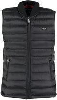 Schott Nyc Norfolk Waistcoat Black
