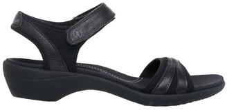 Hush Puppies Athos Black Sandal